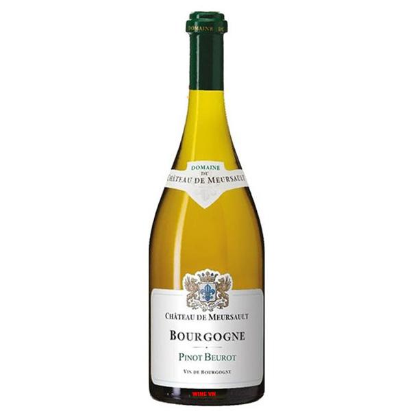 Rượu Vang Chateau De Meursault Bourgogne Pinot Beurot