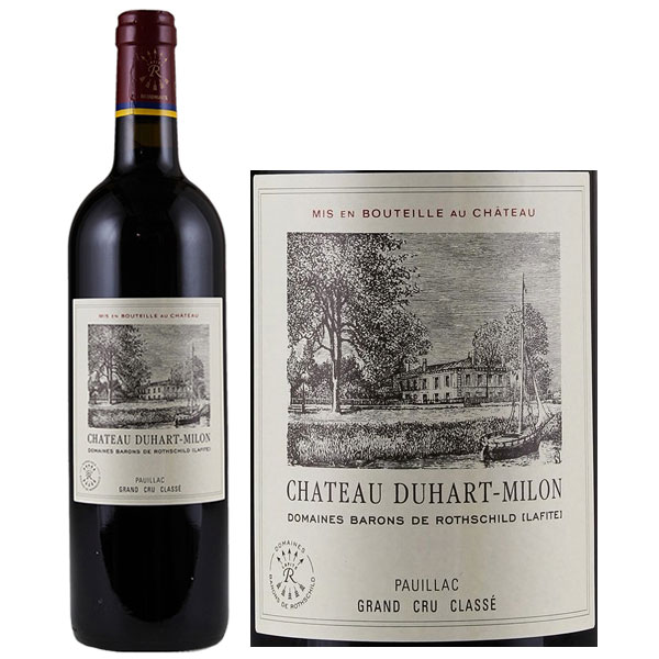 Rượu Vang Chateau Duhart Milon Pauillac