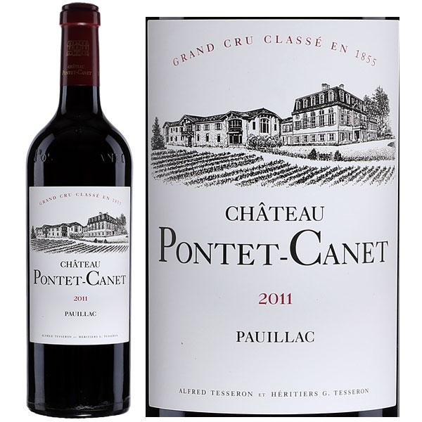 Rượu Vang Chateau Pontet Canet Pauillac