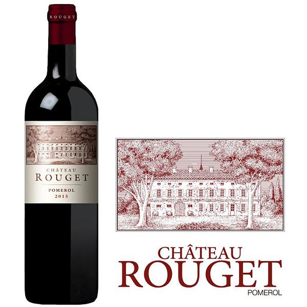 Rượu Vang Chateau Rouget Pomerol