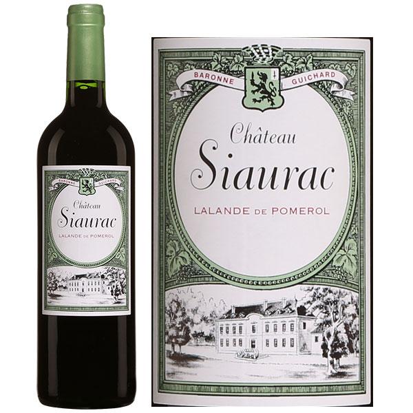 Rượu Vang Chateau Siaurac Lalande De Pomerol