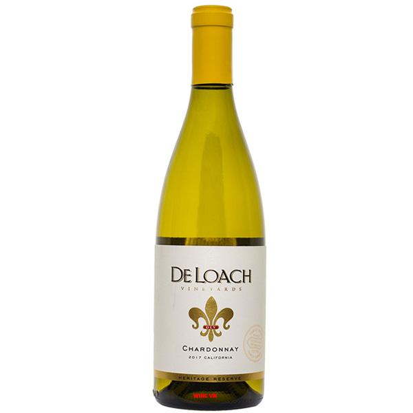 Rượu Vang DeLoach Heritage Reserve Chardonnay