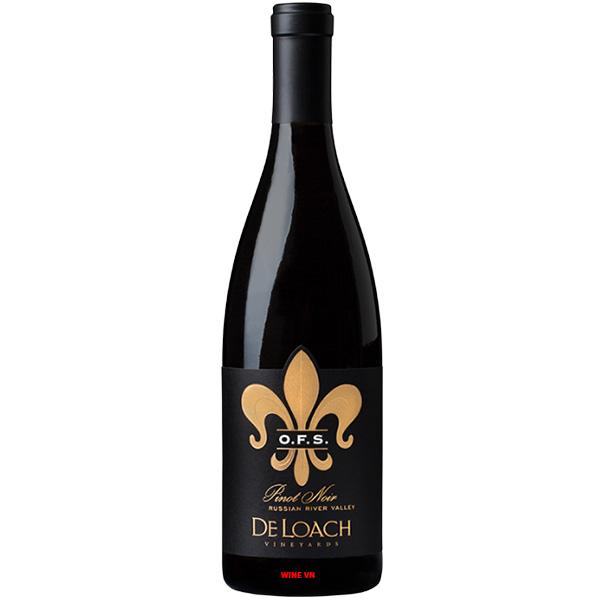 Rượu Vang DeLoach OFS Pinot Noir