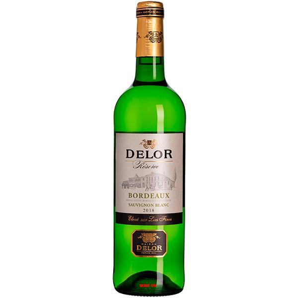 Rượu Vang Delor Bordeaux Sauvignon Blanc