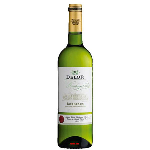Rượu Vang Delor Héritage 1864 Bordeaux Blanc