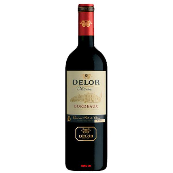 Rượu Vang Delor Reserve Bordeaux
