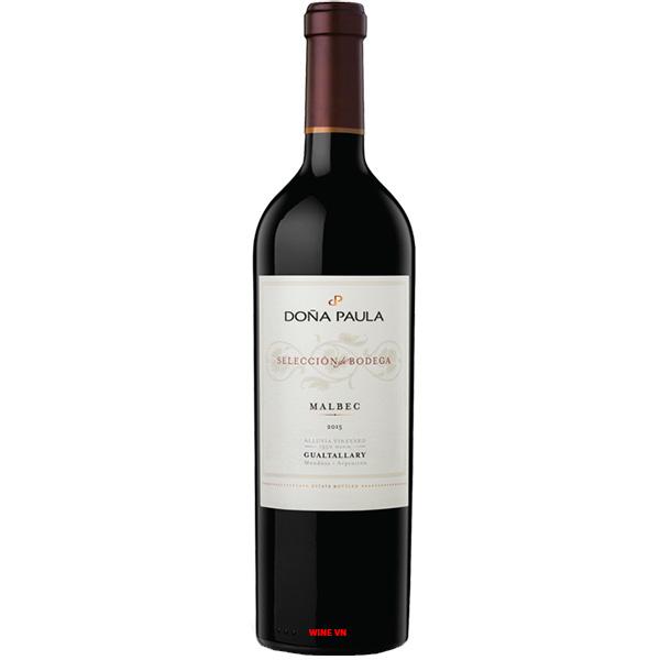 Rượu Vang Dona Paula Selección De Bodega Malbec