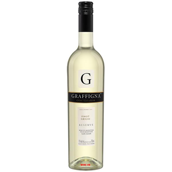 Rượu Vang Graffigna Reserva Pinot Grigio