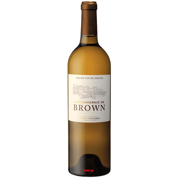 Rượu Vang La Pommeraie De Brown White