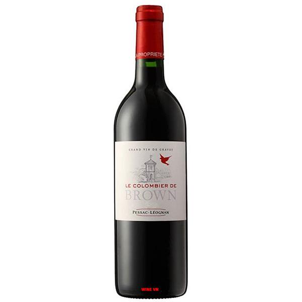 Rượu Vang La Pommeraie De Brown