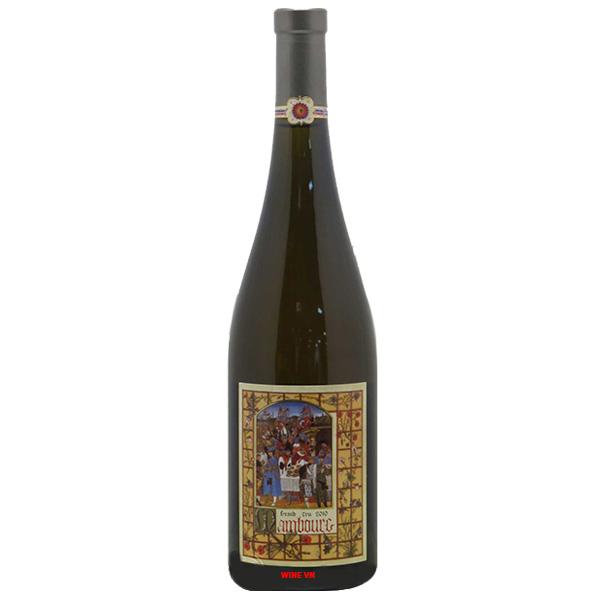 Rượu Vang Mambourg Grand Cru Marcel Deiss