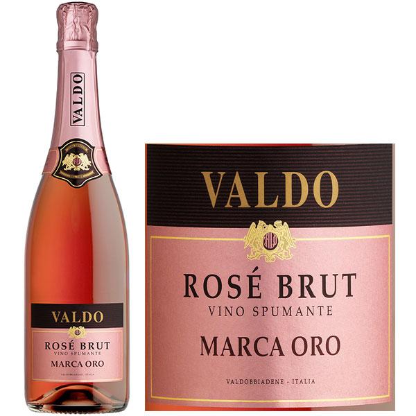 Rượu Vang Nổ Valdo Rose Brut Marco Oro
