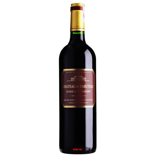 Rượu Vang Pháp Chateau De Tabuteau