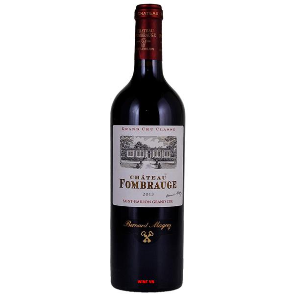 Rượu Vang Pháp Chateau Fombrauge