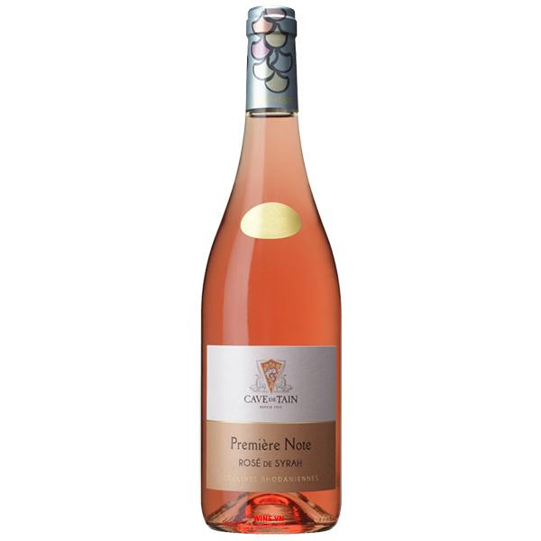 Rượu Vang Première Note Rose De Syrah