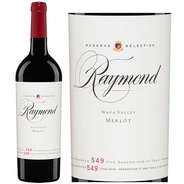 Rượu Vang Raymond Reserve Selection Merlot