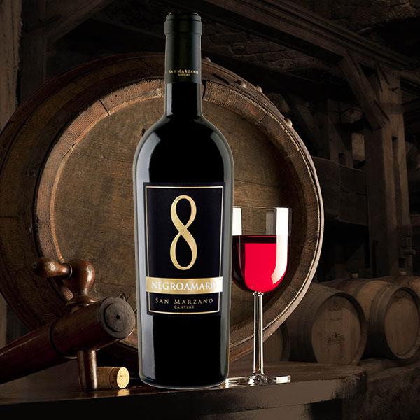 Rượu Vang Số 8Negroamaro San Marzano