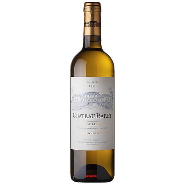 Rượu Vang Trắng Chateau Baret Blanc