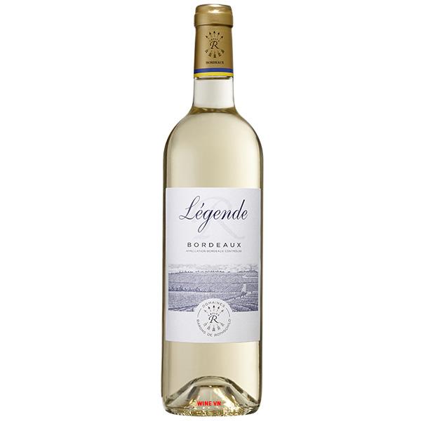 Rượu Vang Trắng Légende Bordeaux