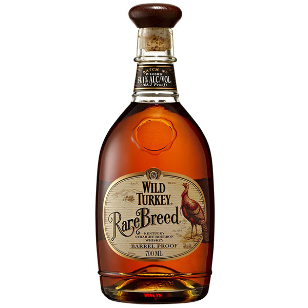 Rượu Wild Turkey Bourbon Rare Breed