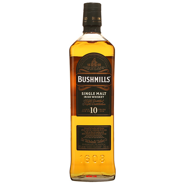 Rượu Bushmills Single Malt 10 Years Old