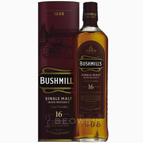 Rượu Bushmills Single Malt 16 Years Old