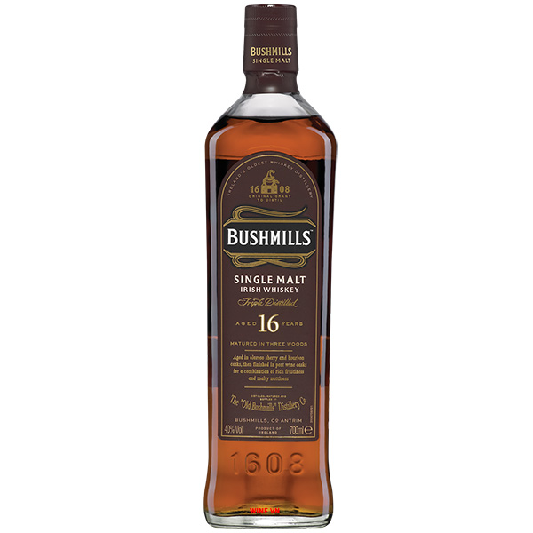 Rượu Bushmills Single Malt 16 Years Old