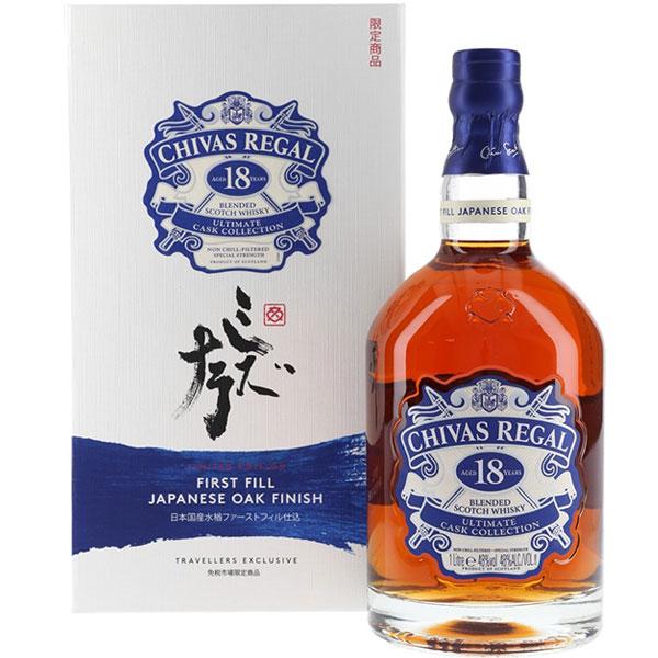 Rượu Chivas Regal 18 First Fill Japanese Oak Finish