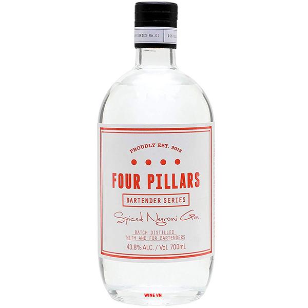 Rượu Four Pillars Bloody Spiced Negroni Gin