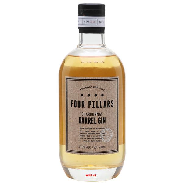 Rượu Four Pillars Chardonnay Barrel Gin