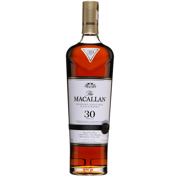 Rượu Macallan 30 Years Old