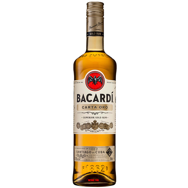Rượu Rum Bacardi Superior Carta Oro Gold