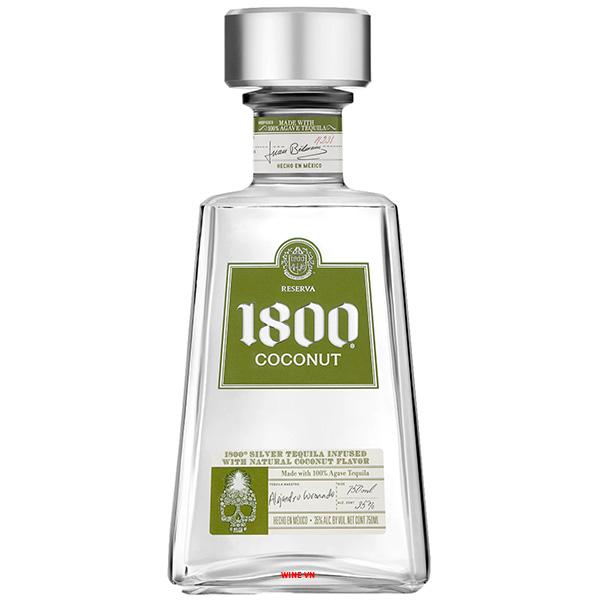 Rượu Tequila 1800 Reserva Coconut