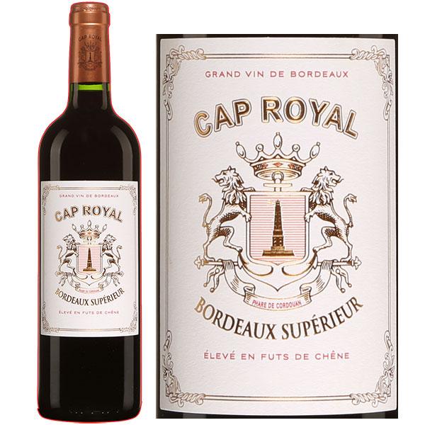 Rượu Vang Đỏ Cap Royal Bordeaux
