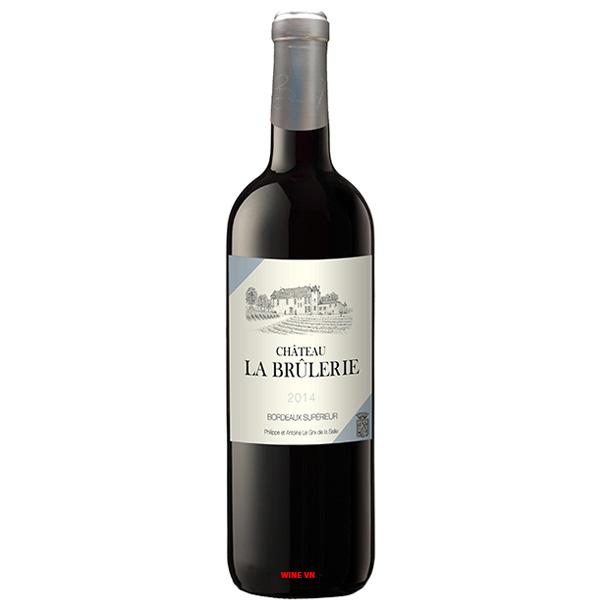 Rượu Vang Đỏ Chateau La Brulerie