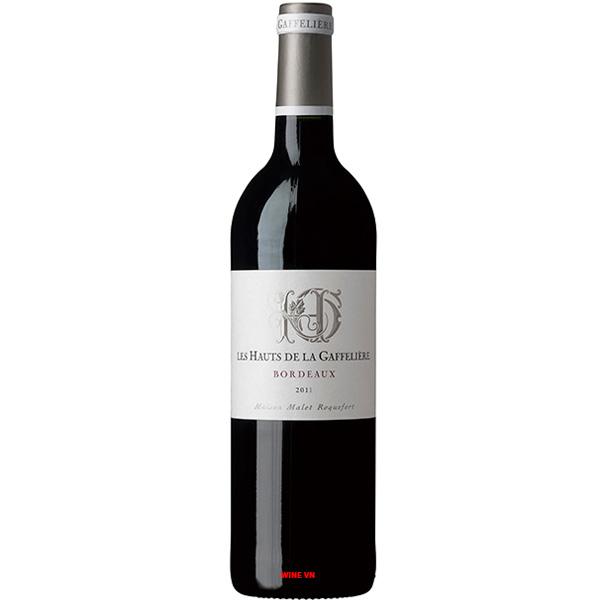 Rượu Vang Đỏ Les Hauts De La Gaffeliere