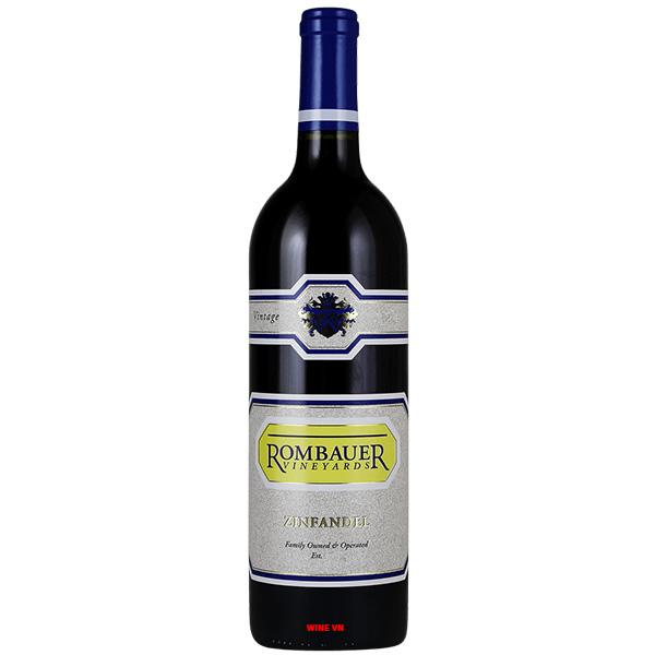 Rượu Vang Đỏ Rombauer Vineyards Zinfandel