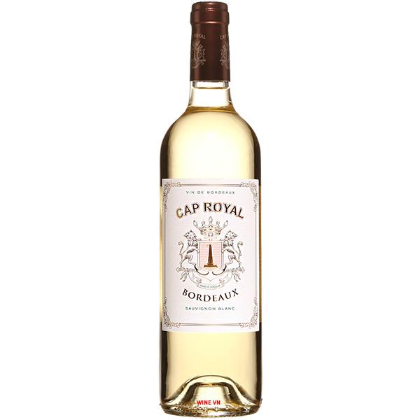 Rượu Vang Cap Royal Bordeaux Sauvignon Blanc
