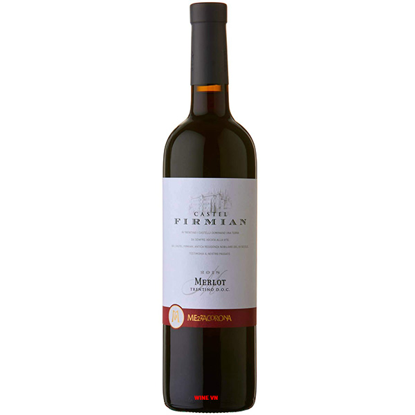 Rượu Vang Castel Firmian Merlot Mezzacorona
