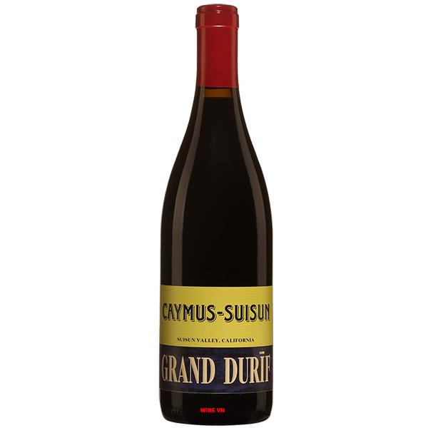 Rượu Vang Caymus Suisun Grand Durif