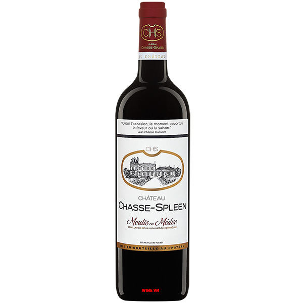 Rượu Vang Chateau Chasse Spleen Moulis en Medoc