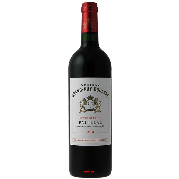 Rượu Vang Chateau Grand Puy Ducasse Pauillac