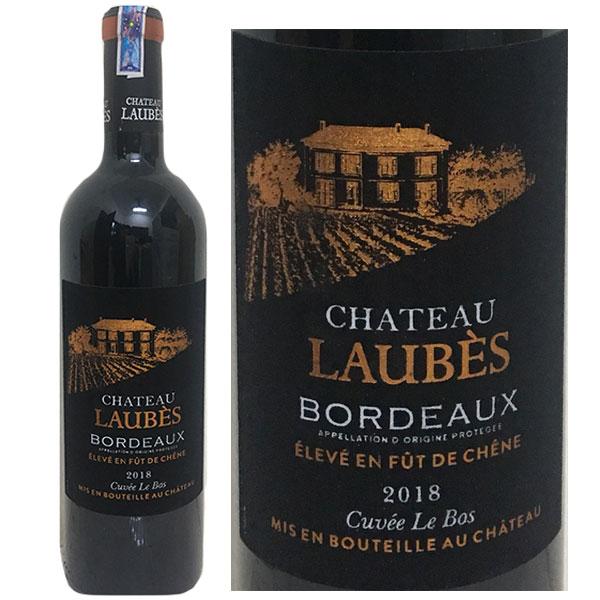 Rượu Vang Chateau LAUBES Bordeaux Mác Nhung