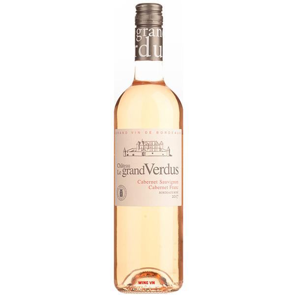 Rượu Vang Chateau Le Grand Verdus Rose