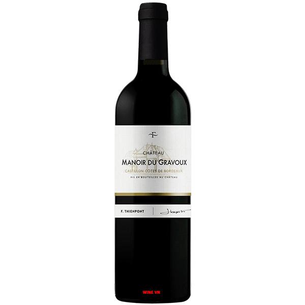 Rượu Vang F.Thienpont Chateau Manoir Du Gravoux