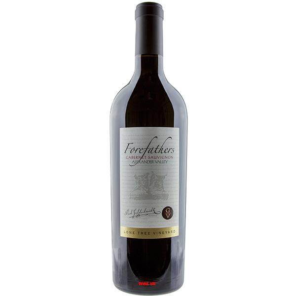 Rượu Vang Forefathers Lone Tree Vineyard Cabernet Sauvignon