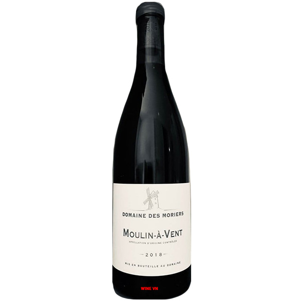 Rượu Vang Francois De Nicolay Domaine De Mories Moulin A Vent