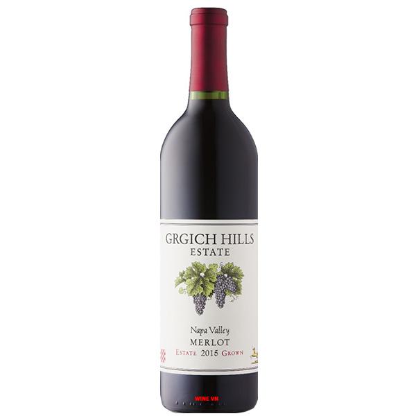 Rượu Vang Grgich Hills Estate Grown Merlot