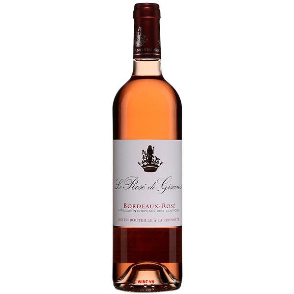 Rượu Vang Hồng Le Rose De Giscours