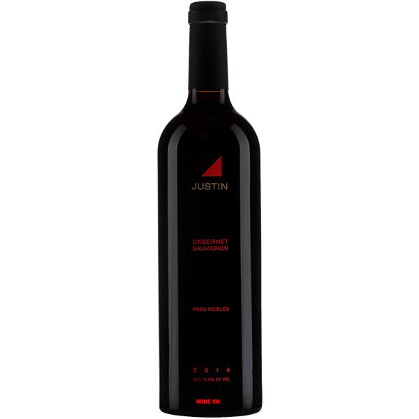 Rượu Vang Justin Cabernet Sauvignon Paso Robles